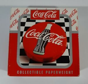 VINTAGE 1996 COCA COLA PAPERWEIGHT RARE ADVERTISEMENT COLLECTIBLE ITEM #264768
