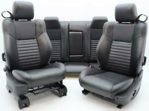 2008 2009 2010 Dodge Challenger Srt Rt Oem Front Rear Leather Heated Seats