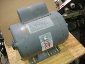 Used Emsc Rotary Phase Converter 2 5 Total Hp Single To 3 Phase 208 230v