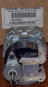 Hatco Gear Motor Kit R02 12 020 00 Nib W fan free Priority Mail Ship