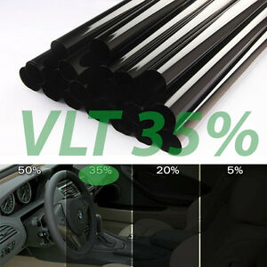 2 X Rolls Uncut Window Tint 35 Vlt 25 10 Feet Home Office Auto Film