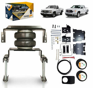 2007 2018 Chevrolet Silverado Gmc Sierra 1500 2wd 4wd Air Helper Suspension Kit