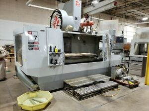 Used Vf 7 50 Taper Cnc Vertical Machining Center Mill Gear Box Tsc 4th Ready 08