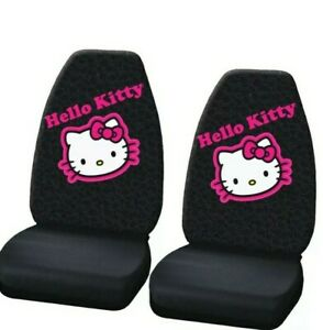 Highback Hello Kitty Collage High Back Seat Cover Set Of 2
