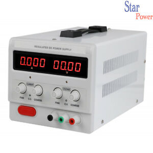 Adjustable Dc Power Supply 0 300v 0 2a 600w With 4 Digital Dispaly Lab Grade