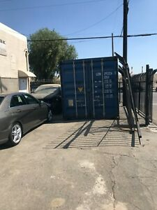 20 Ft Steel Cargo Shipping Storage Container Pick Up In Los Angeles