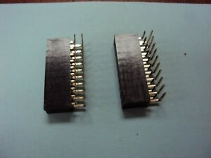 2x10pin Header Right Angle Female Double Row Socket Connector 2 54mm Qty 2 Nos