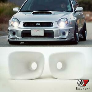 Fits 2002 2003 Subaru Impreza Wrx Bugeye Cs Brake Ducts Fog Light Inserts Covers