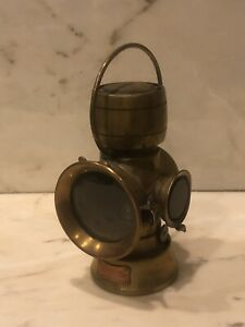 Rare Antique Lucas King Of The Road 634 Auto Lamps British Military