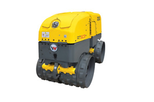 Wacker Neuson Rtlxsc3 Remote Controlled Trench Roller Trench Compactor New