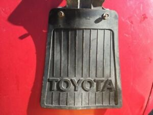 1979 1983 Toyota Hilux 2wd Pickup Truck Rear Mud Flaps With Brackets L And R Oem