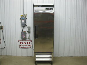 Turbo Air One 1 Door Stainless Commercial Reach In Refrigerator Cooler Tsr 23sd
