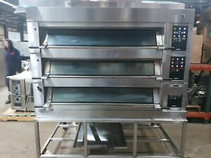 Mono Fg247 g28s01 Electric Deck Oven Three Section