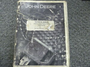 John Deere 8440 8640 4wd Tractor Shop Service Repair Technical Manual Tm1199