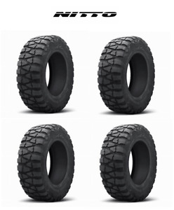 4 Nitto Mud Grappler Truck Suv Tires 35x12 50r17lt 10 Ply Tire 200670
