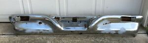 1961 62 Chrysler Imperial Crown Rear Bumper