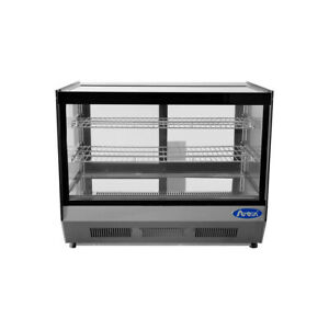Atosa Usa Crds 42 27 Full Service Countertop Refrigerated Display Case 2 Sh