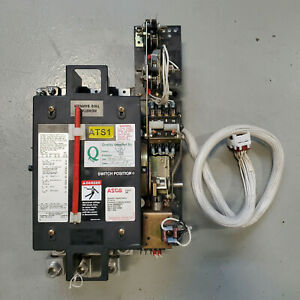 Asco 400 Amp 208 Volt 3 Phase Generator Automatic Transfer Switch Series 940
