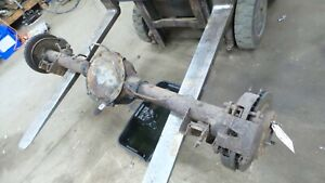 70 81 Firebird Trans Am Original 2 41 Gear Posi Disc Brake Rear End Axle 10 Bolt