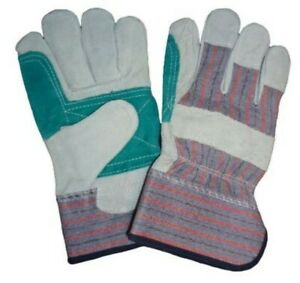 Leather Palm Work Gloves Men s Size By The Dozen