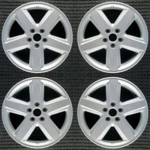 Dodge Avenger Bright Silver Metallic 18 Oem Wheel Set 2008 To 2010