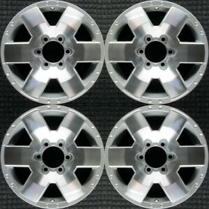 Toyota Fj Cruiser Machined 17 Oem Wheel Set 2007 To 2010