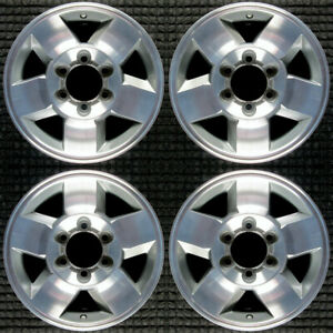 Toyota Fj Cruiser Machined 16 Oem Wheel Set 2008 To 2010