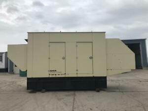_300 Kw Kohler Generator Set Year 2010 121 Hours Base Fuel Tank Sound Att