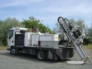Geoprobe Ams Direct Push 9500 Vtr Truck Direct Push Drill Rig Rotary