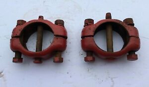 Farmall Ih Cub Cub Low Boy Tractor Wide Front Axle Housing Collars Pins