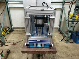 Trd Manufacturing Pneumatic Punch Press 6 Bore 2 Stroke Parker Safety Lockout