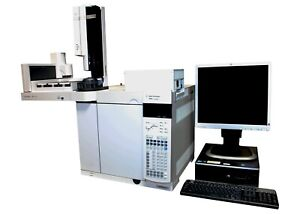 Agilent 7890a Gc With 7693 Autosampler