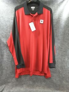 COCA COLA POLO GOLF  SHIRT XXL RED WITH LOGO ON COLOR EX ++ COND