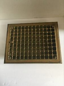 14 X 10 3 4 Antique Vintage Farm House Floor Wall Return Register Grate Vent