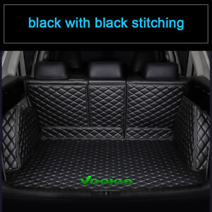 Costom Fit Car Trunk Mats For Jeep All Weather Non Slip 3d Waterproof Carpets