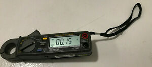 Extech 380941 Rms Ac dc Mini Clamp Multimeter Tested Works Well W o Leads