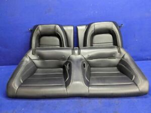 2015 Ford Mustang Gt 50th Anniversary Rear Coupe Leather Seat Upper