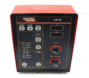 Lincoln Power Feed Ln10 Wire Feeder Control Unit Display