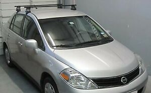 Complete Thule 50 Square Bar 480 Roof Rack Nissan Versa