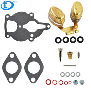 Carburetor Kit W Float Fit For Wisconsin Engine Vh4d Vhd Tjd Ahh Replaces Lq39