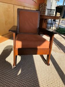 Stickley Quaint Brothers Vintage Mission Oak Rocking Chair