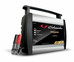Open Box Schumacher Speed 6 4 2 Amp Charger And Maintainer Scf 600a