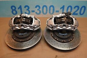 2007 W219 Mercedes Cls63 E63 Front Brembo Brake Caliper Calipers With Rotors Set
