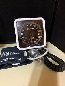 Welch Allyn 7670 01s Sphygmomanometer With Wall Mount Adult Cuff 11