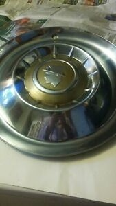 Vintage 1950 S Mercury Hubcaps Pair Of 4