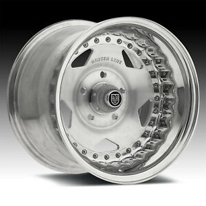Centerline 000p Convo Pro Brushed Polished 15x8 5x4 5 0mm 000p 58065 00