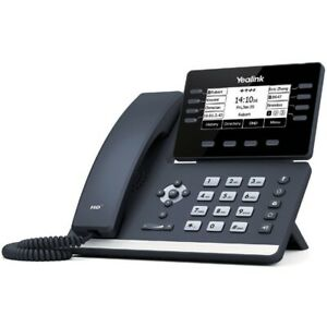 Yealink Sip t53w 12 line Dual port Gigabit Wireless Ip Phone 3 7 Graphical Lcd