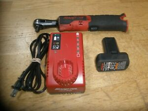 Snap On Ctr761c 3 8 Cordless Ratchet W Charger 14 4v Battery