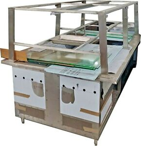 Steam Table 8 Feet Double Side For 14 Pans