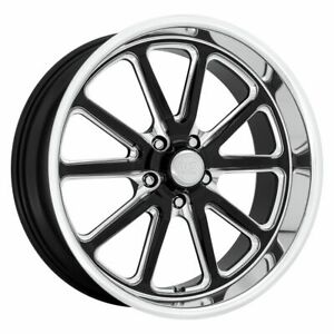 Five 5 18x8 Us Mag Rambler Et 1 Gloss Black Milled 5x127 5x5 Wheels Rims